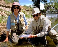 Tim plaska missouri river expeditions montana for Private trout fishing in missouri